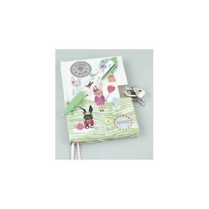 Floss & Rock Secret Diary with Scented Pen - Bunnies