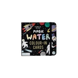 Floss & Rock Magic Water Colour-In Cards - Space