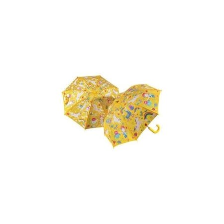 Floss & Rock Colour Changing Umbrella - Rainbow Fairy (Yellow)