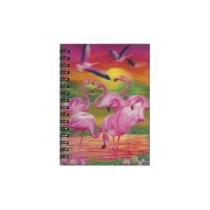 A6 3D Jotter - Flamingo Lingo