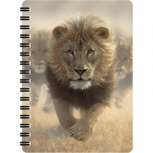A6 3D Jotter - Eat My Dust (Lion)