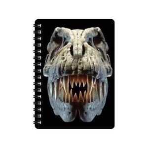 A6 3D Jotter - T-Rex Skull
