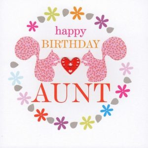 Happy Birthday Aunt Card