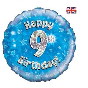 Age 9 helium balloon
