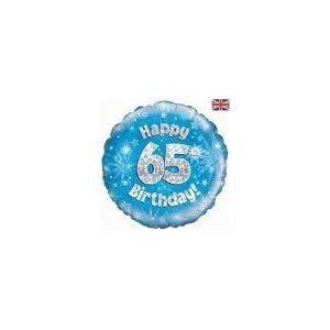 Age 65 helium balloon