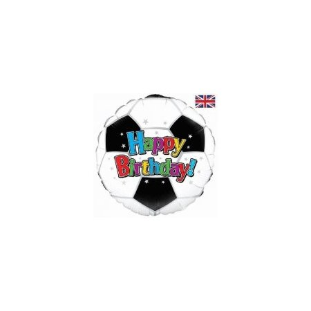 18 inch Happy Birthday Balloon - Football