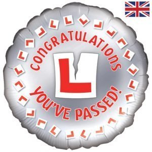 18 inch Congratulations - You've Passed (Learner Driver) Balloon