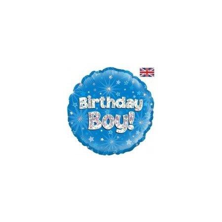 Birthday Boy helium balloon
