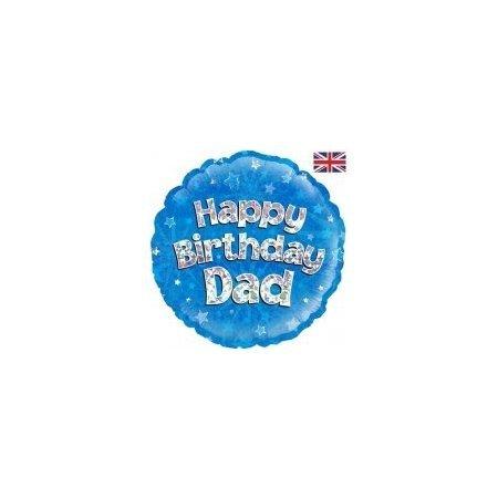 18 inch Balloon Happy Birthday Dad