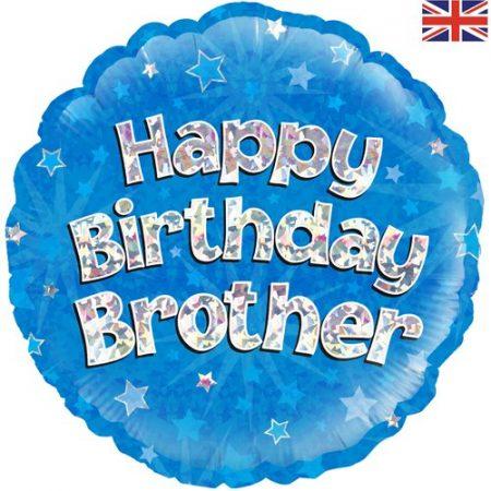 18 inch Balloon Happy Birthday Brother