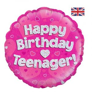 18 inch Teenager Pink Balloon