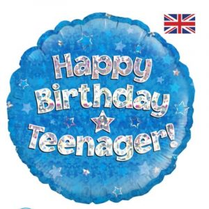18 inch Teenager Blue Balloon