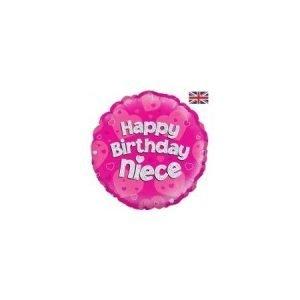 18 inch Balloon Happy Birthday Niece