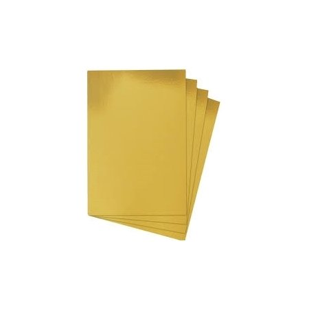 A4 Gold Card - 4 Sheets