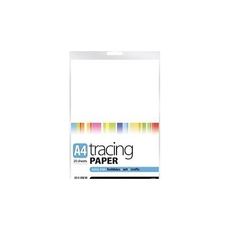 A4 Tracing Paper - 20 Sheets