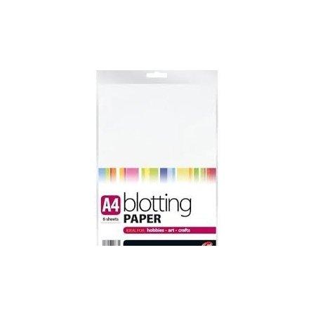 A4 Blotting Paper - 6 Sheets