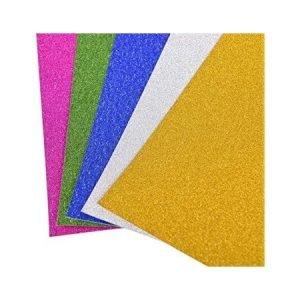 A4 Glitter Card - 4 Sheets