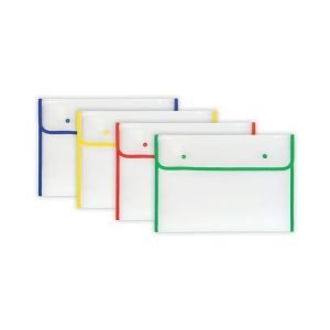 Bright Edge Large Popper Wallet