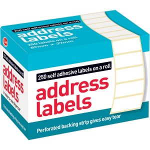 Address Labels x 250