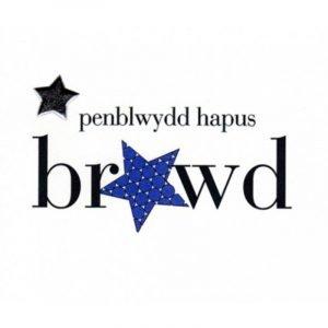 Penblwydd Hapus Brawd Blue With Silver Star Card
