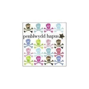 Penblwydd Hapus Multicoloured Skulls & Crossbones Card