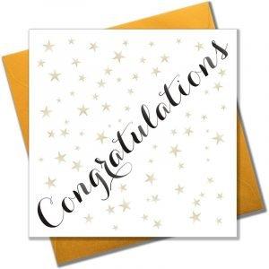 Congratulations Gold Stars Card