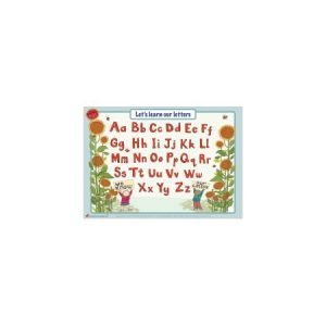 Educational Learning Mat A4 Upper & Lower Case - Right Handed