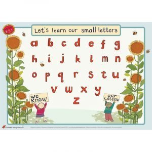 Educational Learning Mat A5 Lower Case