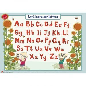 Educational Learning Mat A5 Upper & Lower Case