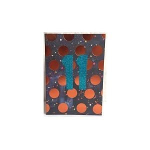 11 Copper Spots Card