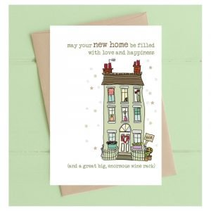 May Your New Home Be Filled With Love and Happiness Card