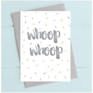 Whoop Whoop Birthday Card