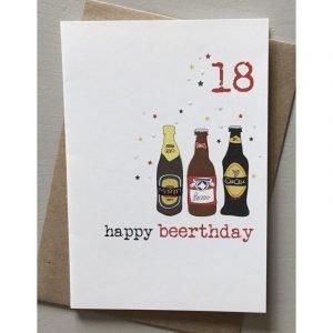 18 Happy Beerthday Card
