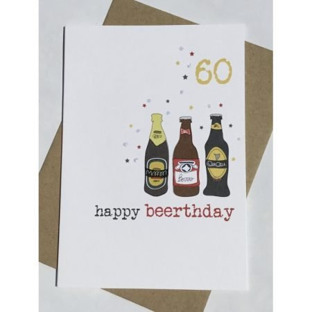 60 Happy Beerthday Card