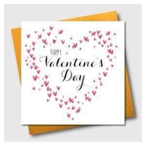 Hapy Valentine's Day Heart of Hearts Card