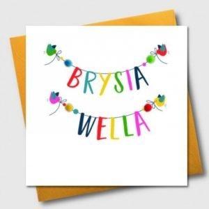 Brysia Wella Birds And Pom Pom Card
