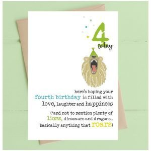 4 Today Lions Roar Card