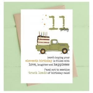 11 Today Truckloads Card