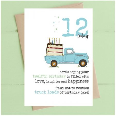 12 Today Truckloads Card