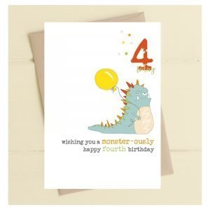 4 Today Monsterously Card