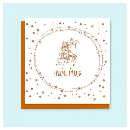 Hwyl Fawr Copper Camel Card