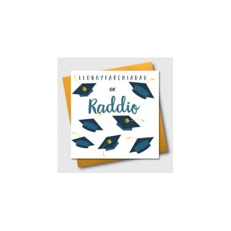 Llongyfarchiadau Ar Raddio Card