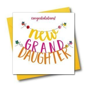 Congratulations New Granddaughter Card