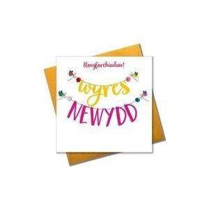Llongyfarchiadau! Wyres Newydd Card