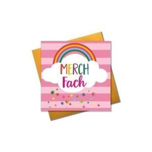 Merch Fach Rainbow Card
