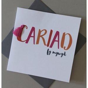 Cariad Fy Mywyd Card