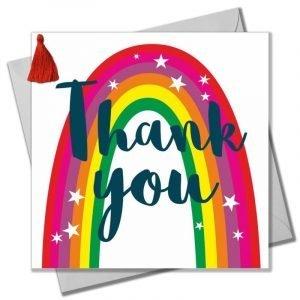 Thank You Rainbow Card