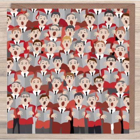 Male Voice Choir Card