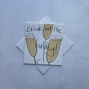 Break Out The Bubbly Card