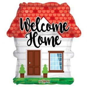 18 inch Welcome Home House Balloon